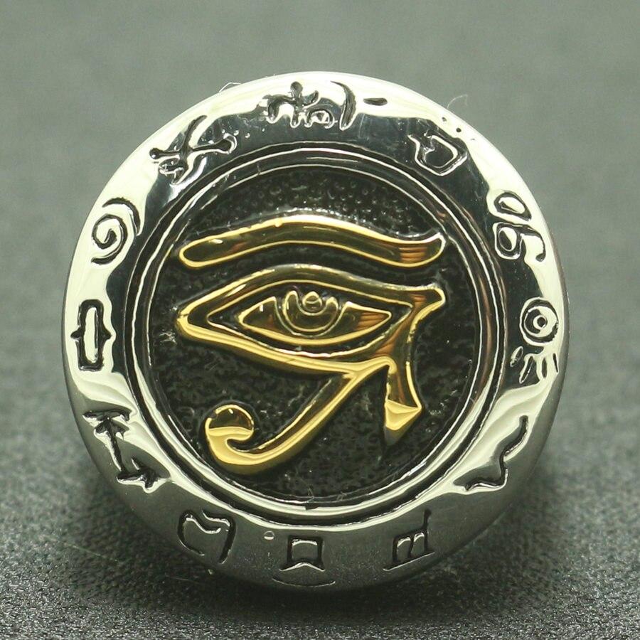 El más nuevo anillo cultura de la civilización maya de acero inoxidable 316L para hombres