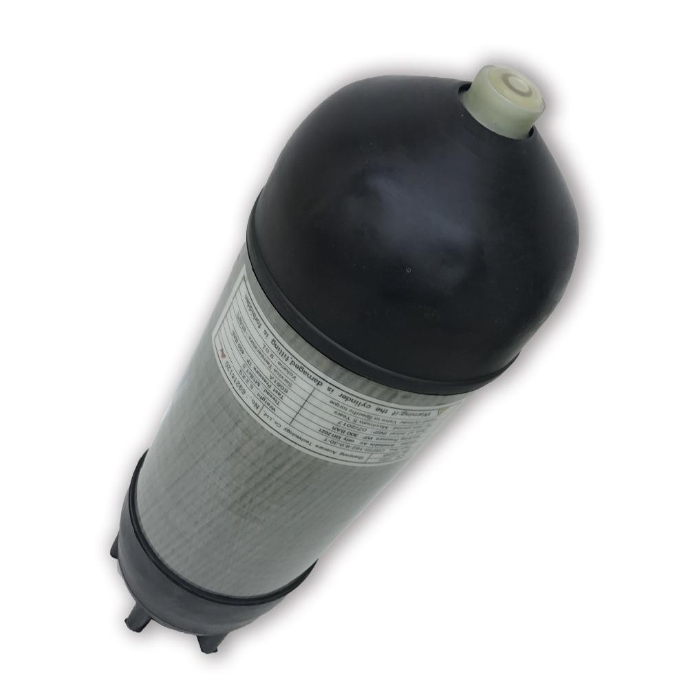 AC10991 9L Hpa Paintball Pcp 4500Psi tanque de buceo tanque cilindro de goma 300bar cilindro de Gas Pcp cubierta Airforce Condor Gun