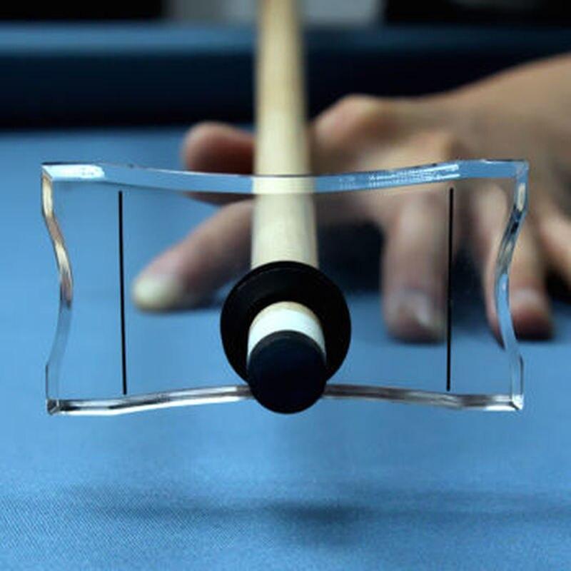 1 pcs Vara de Equilíbrio Balanceador de Acessórios de Mesa de Bilhar 8 Cue Nove Grande Preto Formadores de Bilhar
