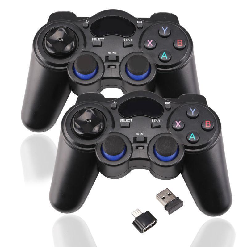 Беспроводной игровой контроллер Eas tV ita 2,4G, джойстик, геймпад с микро-USB, для Android TV приставки, для ПК, PS3, r57