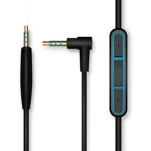 LEORY 2.5 3.5mm ses kablo kordonu Bose QC25 sessiz konfor mikrofonlu kulaklık ses kontrolü IOS Android sistemi için 1.5m