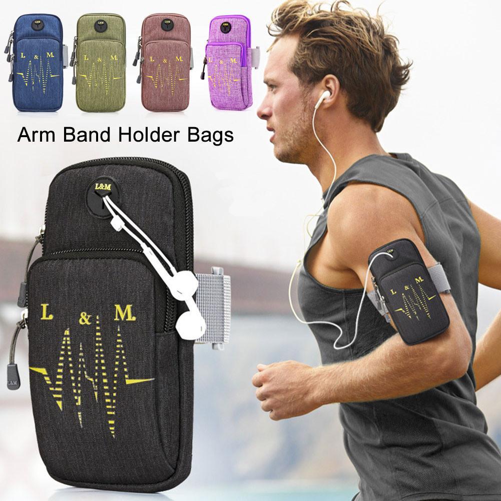 Funda deportiva para correr y Fitness, funda para correr, gimnasio, brazalete para teléfono móvil, funda para el brazo para IPhone 7/8 Plus, funda para el brazo para deportes al aire libre