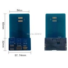 SIM Card Pinboard Adapter Converter per Smart IC Card di Estensione per SIM Micro SIM Nano 2FF, 3FF, 4FF SIM Card