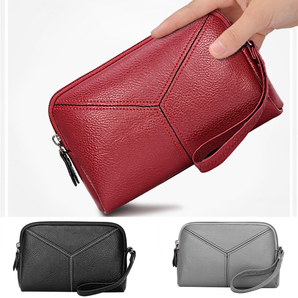 Women Fashion Mobile Phone Bag Multi-function Coin Purse Mobile Bag Wallet  711