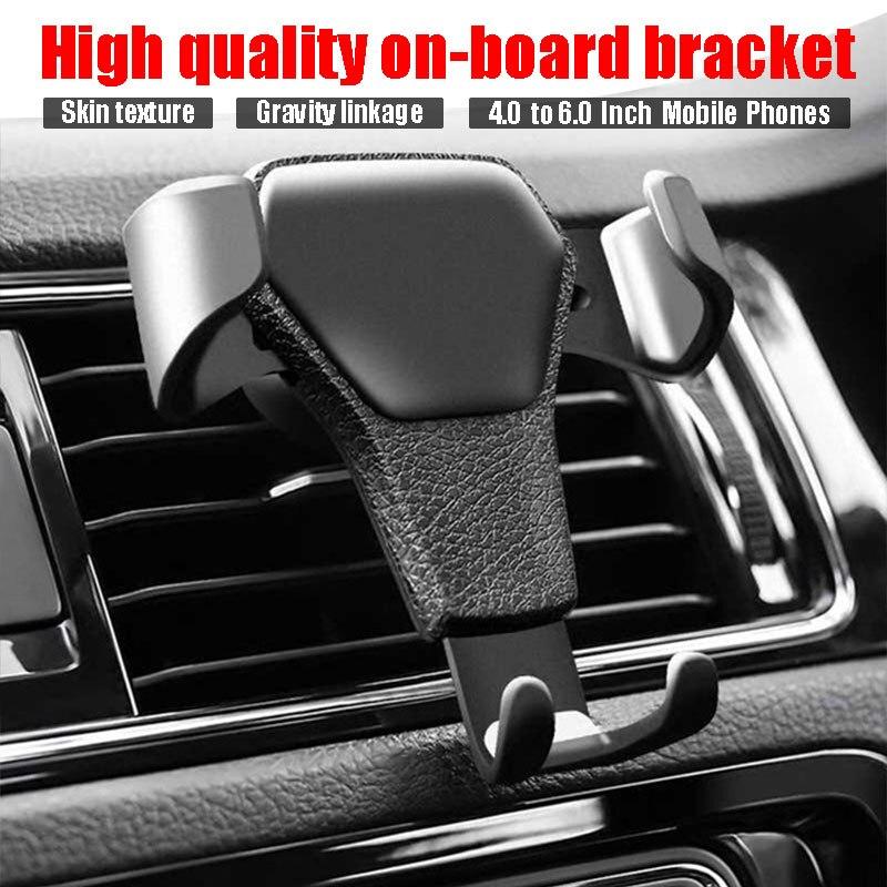 Car accessories Car Air Vent Phone Holder Bracket for Opel astra Mokka VW Golf Jetta Tiguan  Peugeot 206 208 508 Seat Leon lbiza