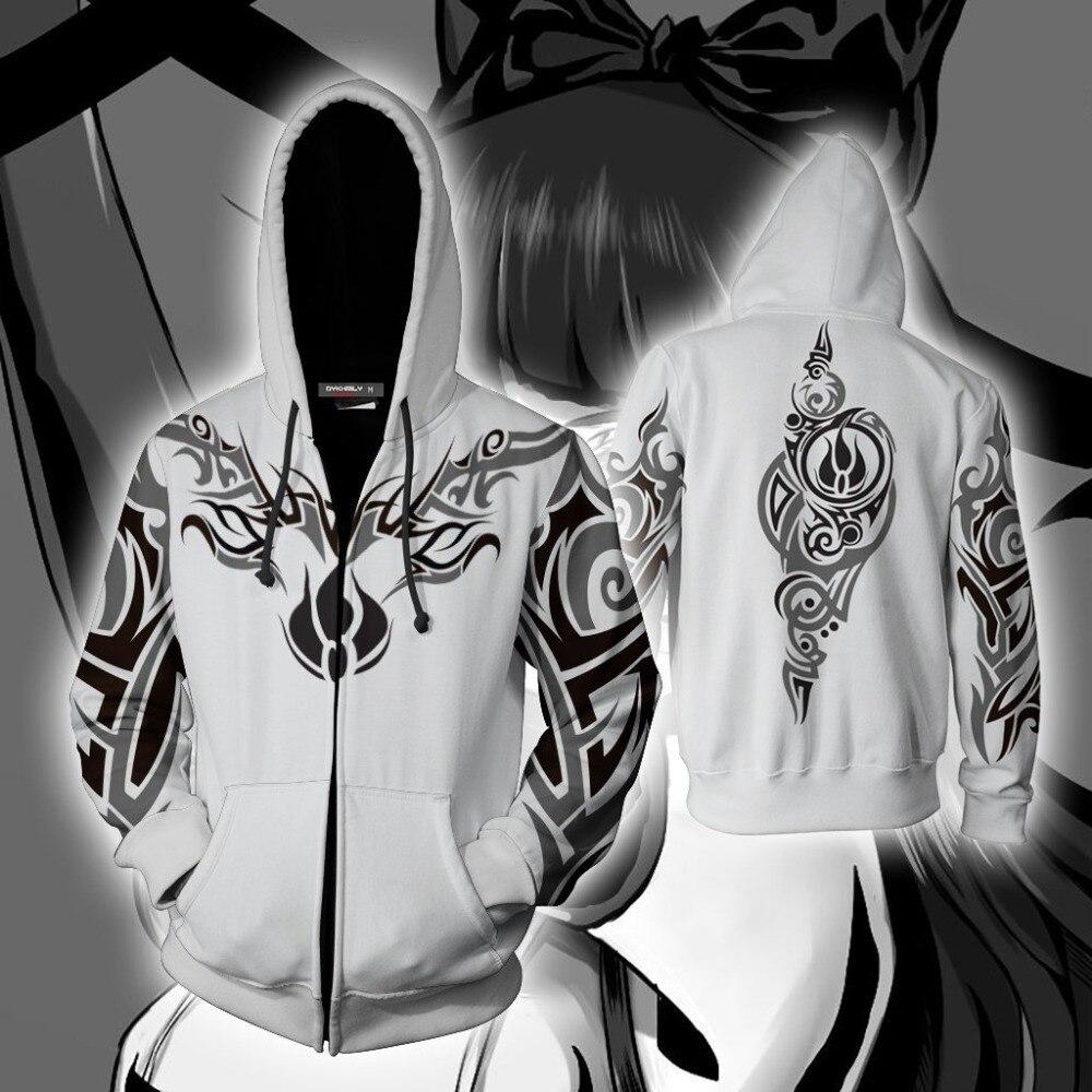 Anim RWBY Blake belladonna Weiss schnee sudaderas con capucha trajes de Cosplay hombres y mujeres RWBY sudaderas con capucha sudadera Casual Chaquetas deportivas