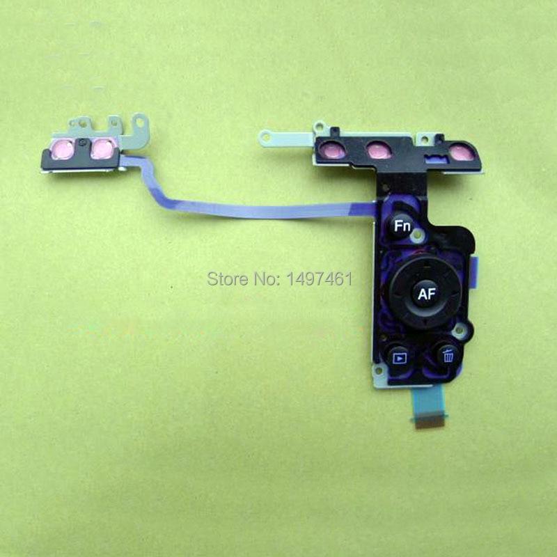 Piezas de reparación de botón de menú de selección de rueda de tablero de interfaz de usuario para Sony DSLR-A560 A580 A560 SLR