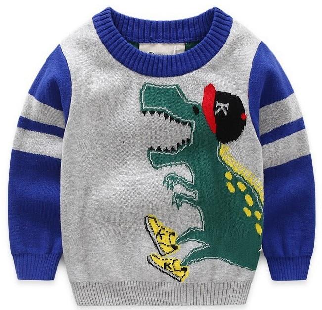 Ropa de bebé cuello redondo suéter cálido niños pequeños niños Pullovers felpa terciopelo dentro del invierno otoño tejido suelto Top NIÑOS 2- 7 años