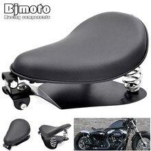 BJMOTO кронштейн опорной пластины сиденья мотоцикла для Honda Yamaha Kawasaki Suzuki Bobber Chopper Harley Sportster XL883 крепление сидений