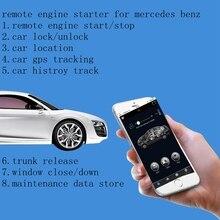 PLUSOBD GPS/GSM alarme de voiture   Télécommande moteur, anti-démarrage, Module de dérivation avec téléphone portable, voiture pour AUDI A4L Q5 A6