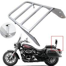 Для Yamaha V-Star 400 650 1100 Classic XVS 1998-2011/Dragstar XVS 1100 00-11 хромированная мотоциклетная стойка для багажа
