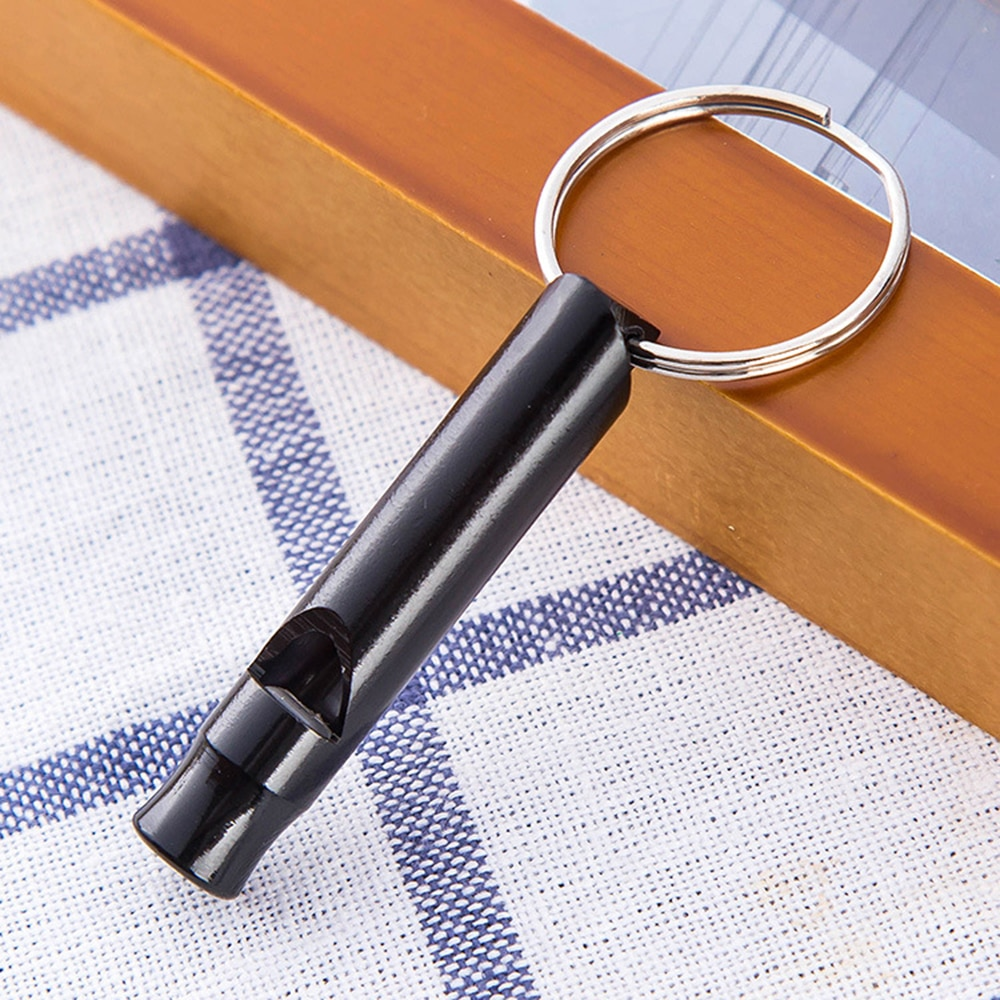 1 шт. металлический свисток с брелком для выживания на открытом воздухе аварийный Мини Размер многофункциональное оборудование набор Высокое качество подарок