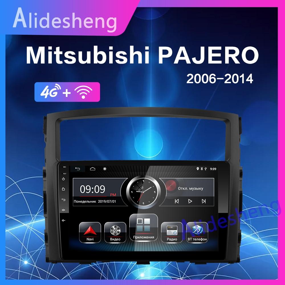 4G Android 8.1 Car Multimedia Player For MITSUBISHI PAJERO  V97 2006 2007 2008 2009 2010 2011 2din Stereo radio GPS Navigation