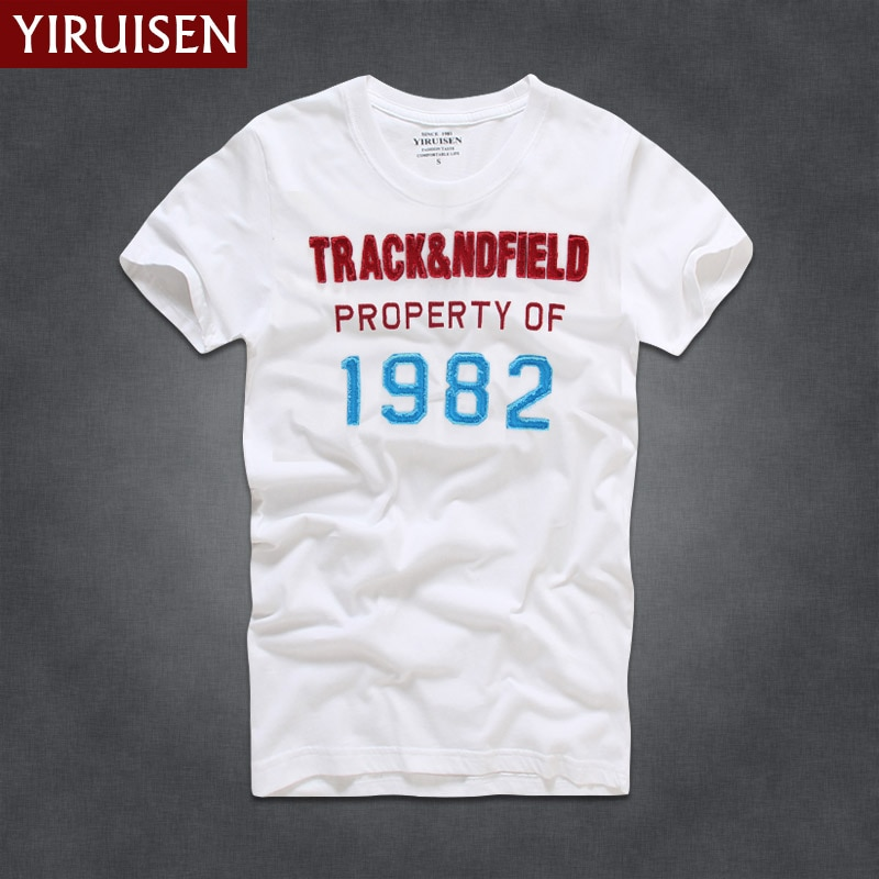 YIRUISEN-Camiseta blanca de manga corta para hombre, camisa de estilo de Nueva...