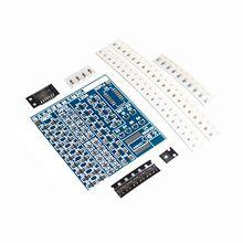 SMT SMD компонентный сварочный тренировочный щит для пайки DIY Kit Resitor диодный транзистор от начала обучения электронному