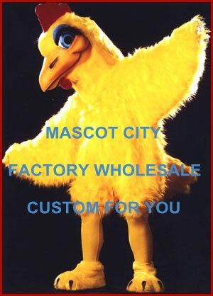المهنية كلارا كلوك زي التميمة الدجاج الديك Mascotte فستان بتصميم حالم لحفل عطلة الاحتفال تأثيري SW622