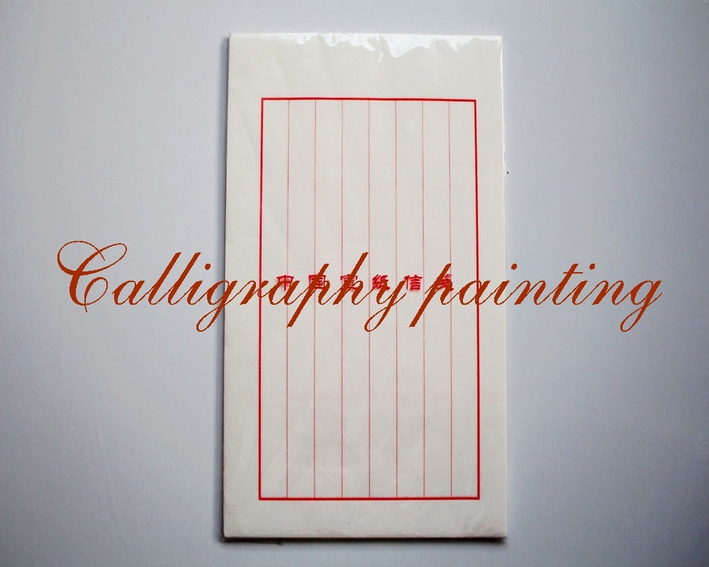 Papel hecho a mano carta caligrafía Xuan arroz papel