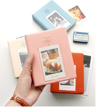 64 zakken Fujifilm Instax Mini Films Instax Mini 9 8 7s 70 25 50s 90 Naam Card Stukken van Moment Fotopapier Boek Album Gift