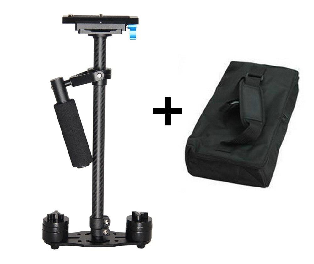 New filmmaking Carbon fiber s60t video camera stabilizer steadicam for canon 5d ii dslr estabilizador  Compact Camcorder