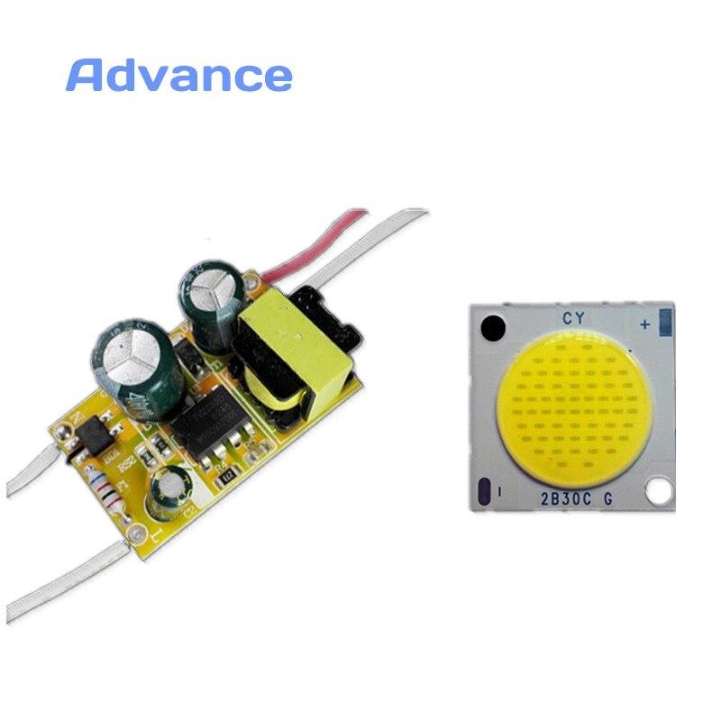 Controlador LED con linterna Cob DIY, módulo de potencia, diodo emisor de...