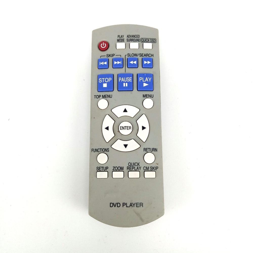 Nuevo Control remoto Original para reproductor de DVD Panasonic N2QAYB000011 Control remoto para DVD-S1 DVD-S1S Fernbedienung
