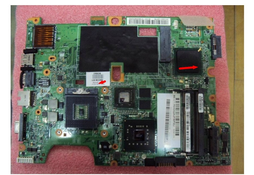 488338-001 lap CQ50 CQ60 CQ70 CQ50-100 CQ60-100 Placa de conexión de regazo de prueba completa conectar con la placa base