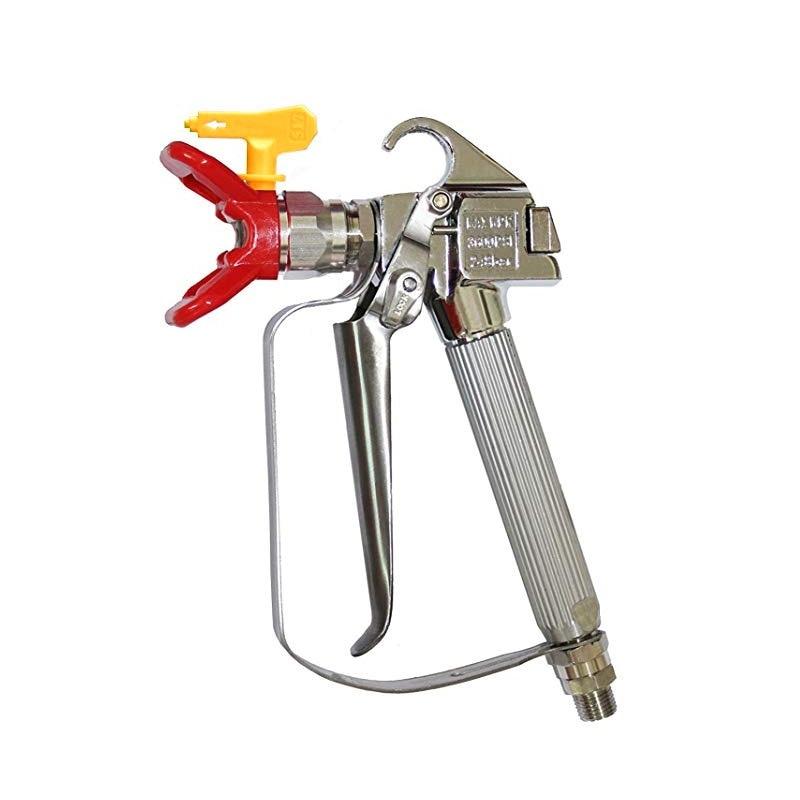 Spray Gun High Pressure 3600PSI Airless Paint Spray Gun+517 Spray Tip Nozzle Guard for Wagner Titan Pump Air Sprayer Machine