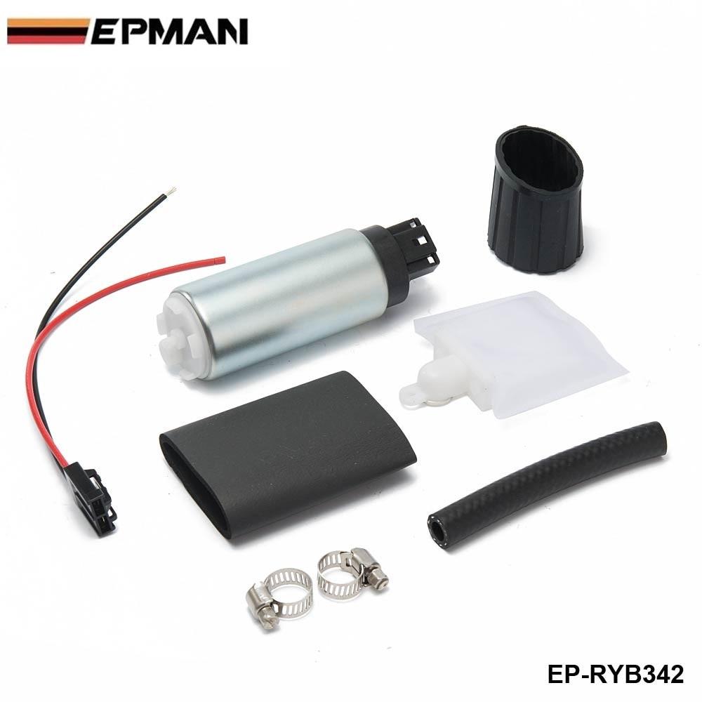 Genuine epman 255 lph bomba de combustível elétrica de alta pressão em-tanque universal gss342 EP-RYB342
