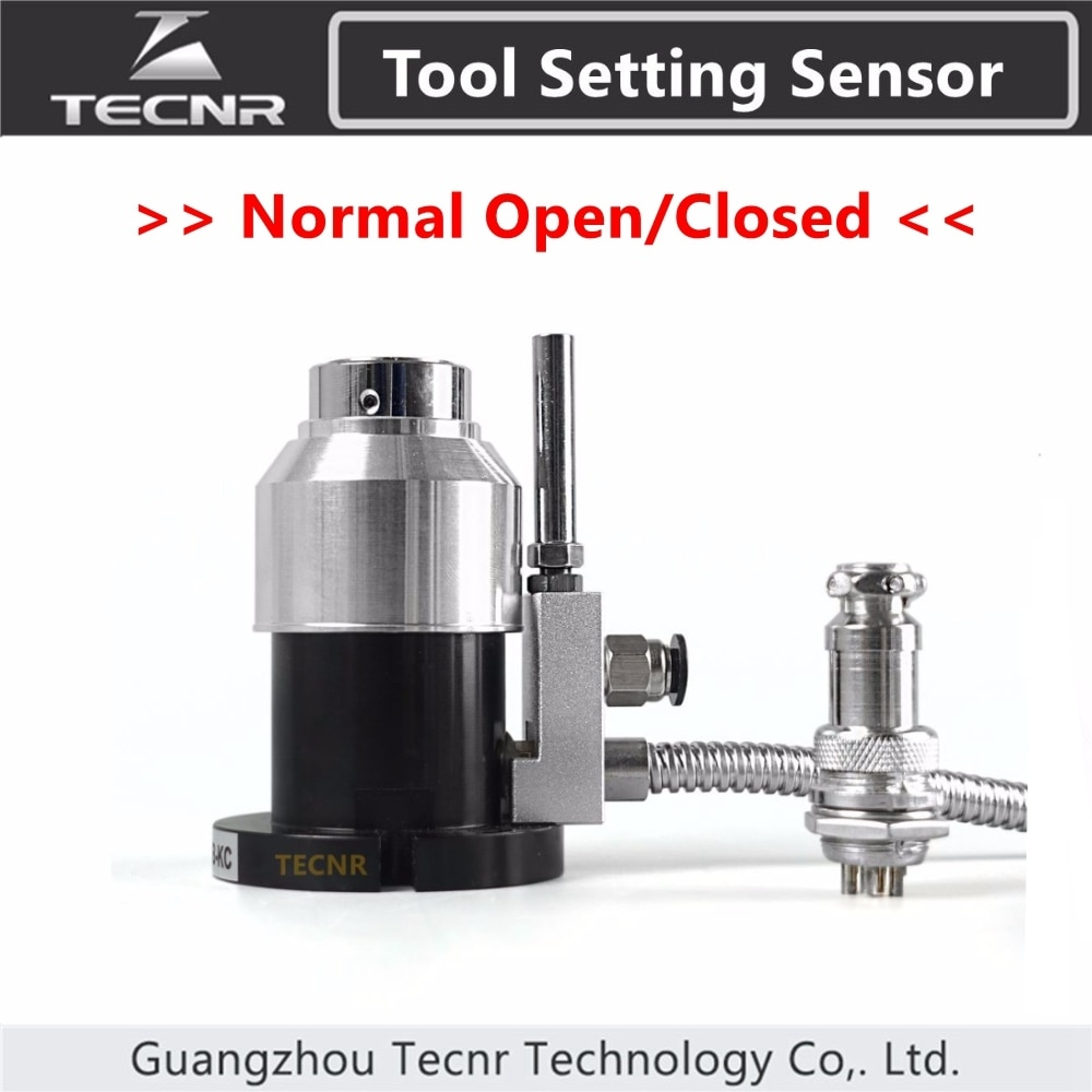 Sensor de Herramienta automática de alta precisión, instrumento de verificación automática, eje Z, calibrador para enrutador cnc