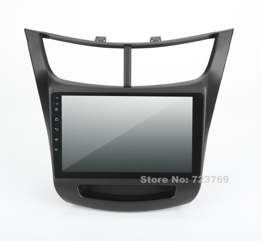 9 pulgadas de pantalla 4G RAM Android 8,0 Radio, navegación GPS para coche sistema de Chevrolet Sail 2015
