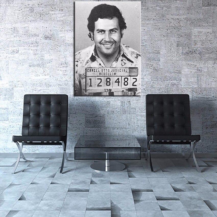 Легендарная фигура Пабло Эскобар-Мэрилин Монро сексуальные фотографии современный отель гостиная настенная художественная спальня плакат Декор без рамки