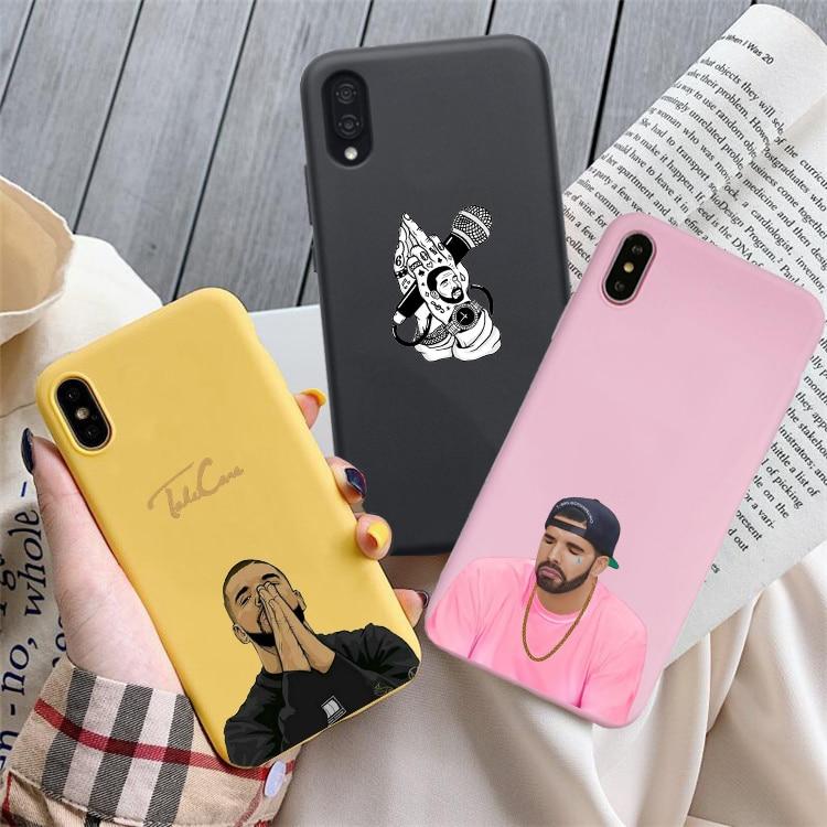 Drake cuidar Caramelo Suave de silicona caja del teléfono para el iphone 6/6s 6Plus 6/6Plus 7 / 8 7Plus/8Plus X XS la RX XSMax