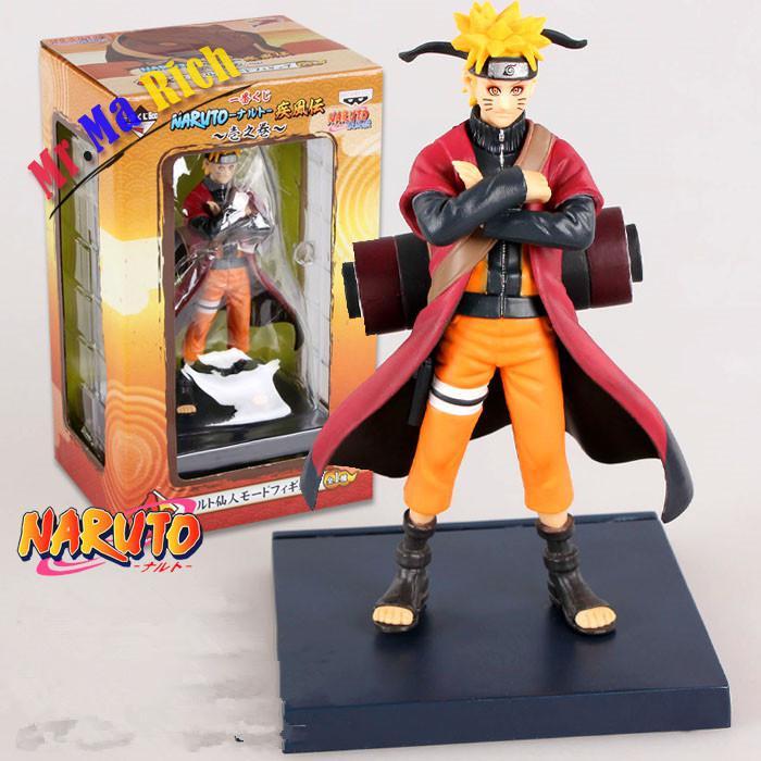 Retail 17cm Anime Naruto Action Figure Uzumaki Naruto Pvc Action Figures Doll Model Toys