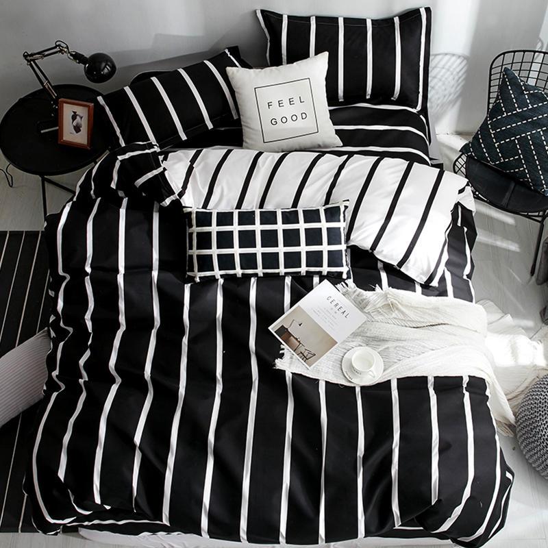 2019 New Bedding Set 1 Pcs Duvet Cover/quilt Cover/comforter Cover +2 Pillowcase 180*220/200*230/220*240 Free Shipping