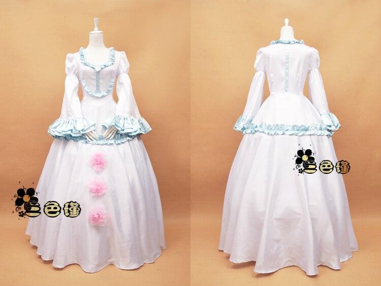 Aldnoé Zero assellum Vers Allusia Cosplay fiesta personalizado uniformes Cosplay vestidos envío gratis + collar