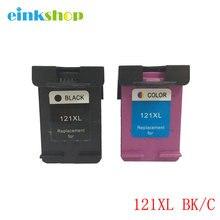 Einkshop Marque 121xl 121 Compatible Cartouche Dencre Pour HP Deskjet F4283 F2423 F2483 F2493 F4275 F2420 F2480 F2488 F4213Printer