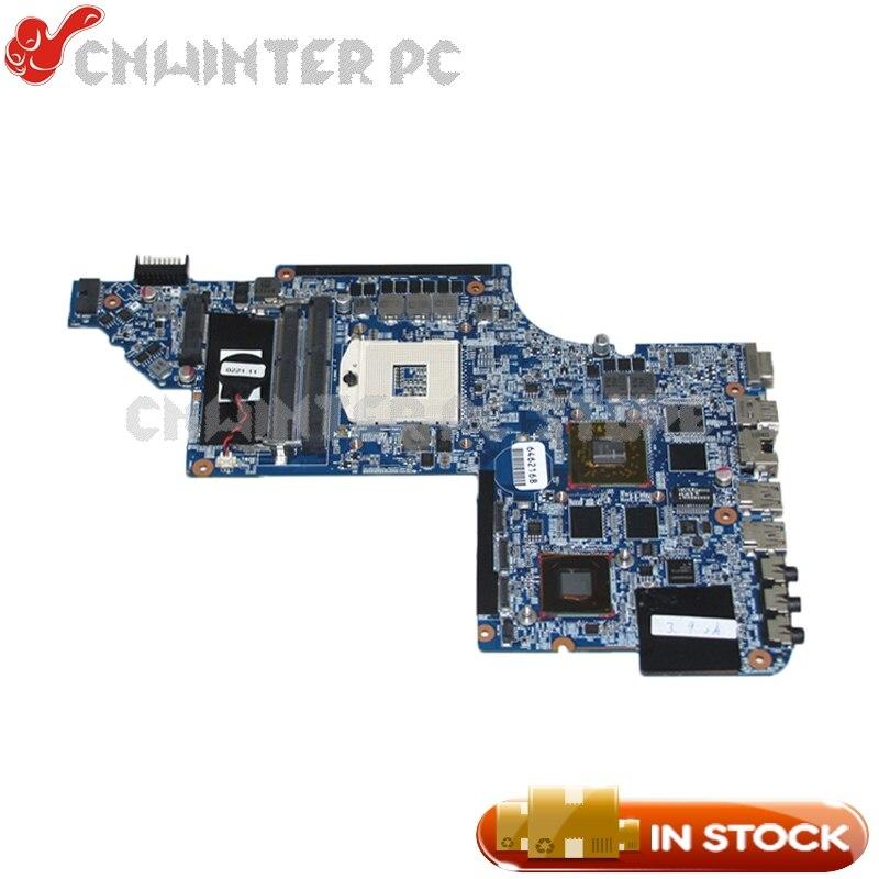 Placa base de ordenador portátil NOKOTION 659095-001 para Hp Pavilion DV7-6000 placa lógica HM65 DDR3 HD6770M tarjeta gráfica