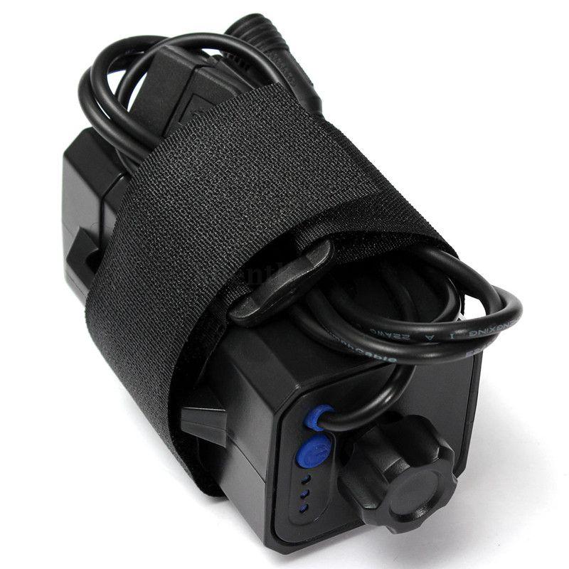 Hot-NEW Waterproof 4x18650 Battery Storage Case Box Holder For Bike LED Light