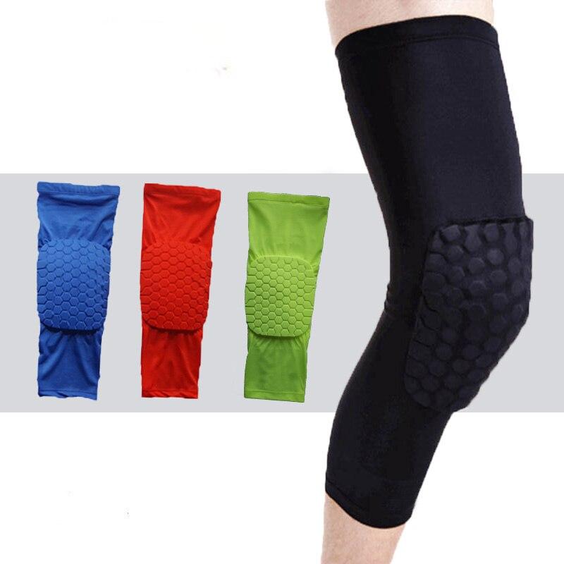 Transpirable Protector de rodillas para deporte rodilleras de baloncesto soportes para caza de seguridad rodillera almohadilla parachoques soporte Kneelet