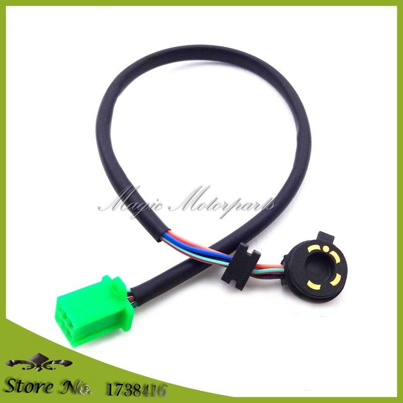 5 cable de Sensor de posición para 50cc 70cc 90cc 110cc 125cc Quad ATV suciedad Pit Bike Go Kart Buggy motocicleta motocross