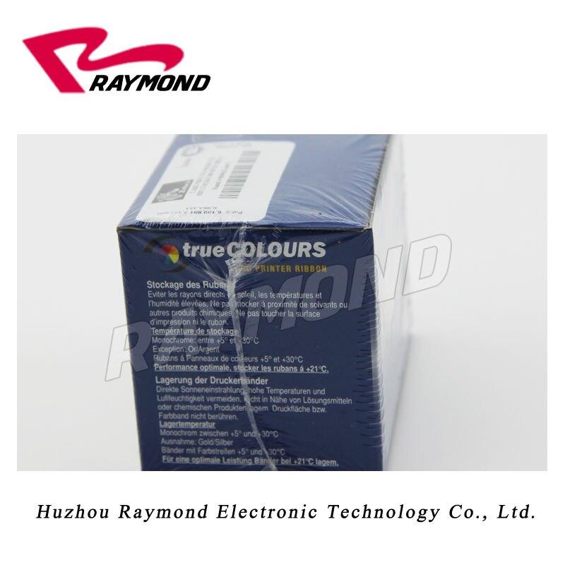 Zebra P330i card printer ribbon 800015-440CN YMCKO Color Ribbon for plastic card printers