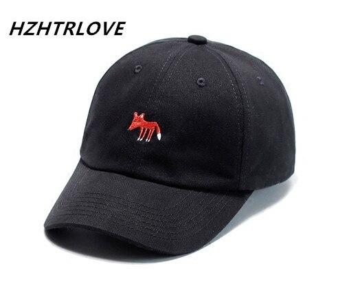 Gorras de béisbol de zorro de alta calidad Cattoon estampado de bordado sombreros para hombres y mujeres Snapback Gorras de Hip Hop Gorras