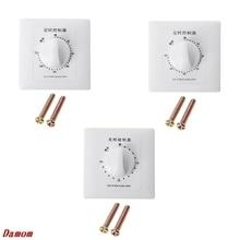 AC 220V Timer Switch Control Pump Mechanical Countdown Control Interruptor 30/60/120 Minutes