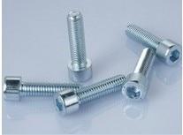 Wkooa M8 Cap Screws Hex Socket Head Bolts Steel Zinc Plated