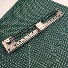 1 kit de guidage de mouvement linéaire moteur NEMA17 axe X tout métal MGN12H kit mécanique linéaire pour imprimante 3D/CNC