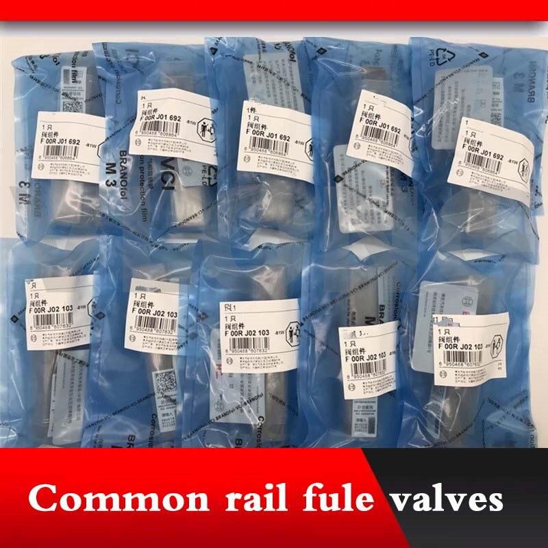 Genuíno e original common rail válvula contral definir F00RJ02454 F 00R J0 fule 2454 FOORJ02454 F OOR J02 454 para 0445120025