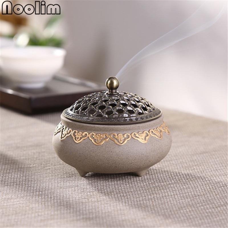 Керамическая антимоскитная горелка классическая гостиная Декор фарфоровая катушка держатель для ладана