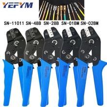 plug crimping pliers XH2.54 spring 2.8 4.8 6.3 VH2.54 3.96 2510 terminal SN-48B/28b/01BM/02BM/11011 wire clamp tools