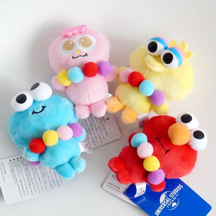 Sesame Street ELMO BIG BIRD COOKIE MONSTER OSCAR THE GROUCH ERNIE Plush Toys Cartoon Stuffed Dolls Hand Puppet Gift