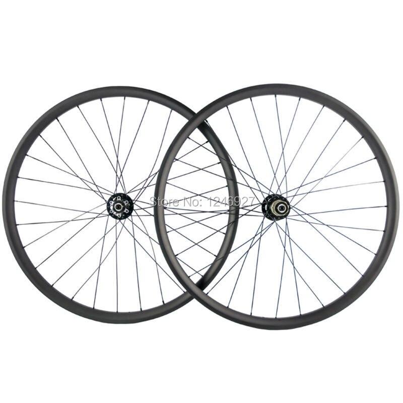 Heißer Verkauf MTB Bike Carbon Laufradsatz 27.5ER 25mm Tiefe 35mm Breite Carbon Räder Mountainbike Hookless